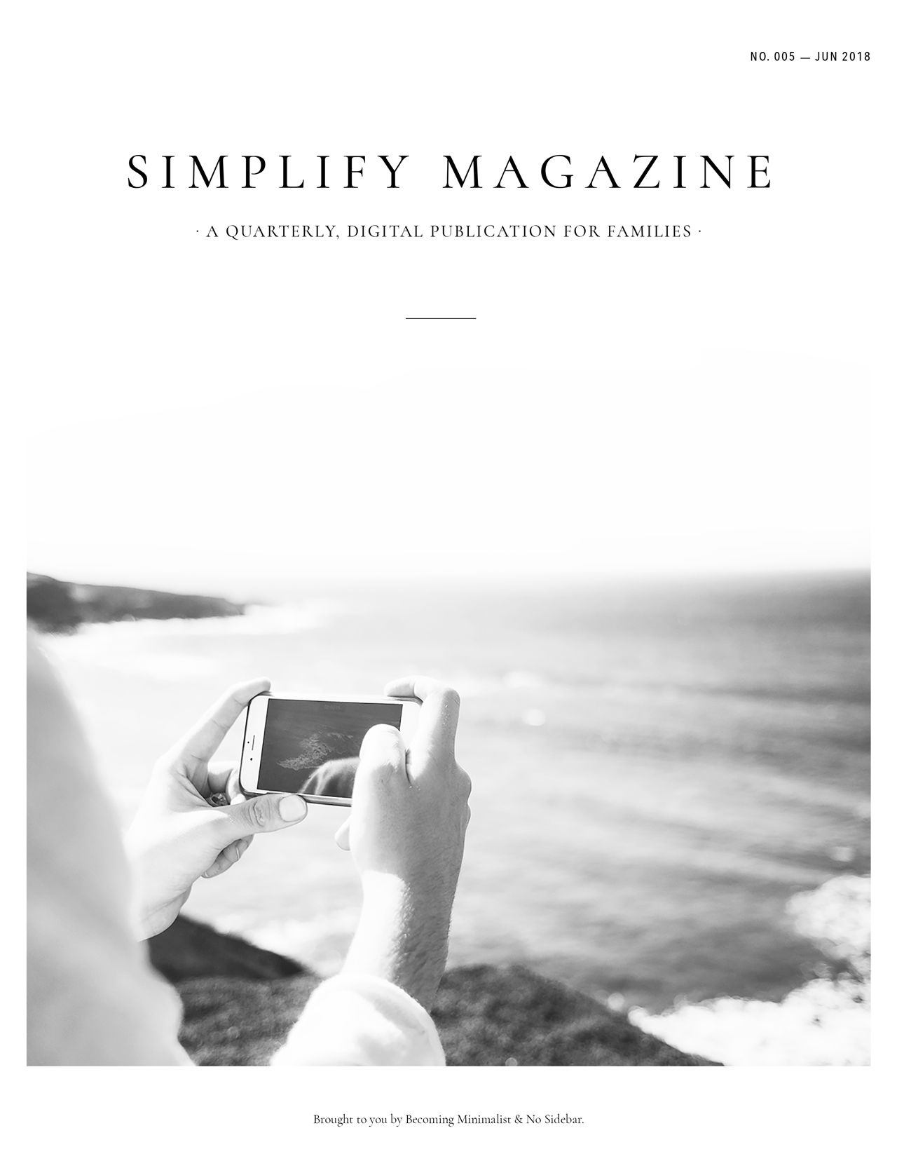Simplify Magazine Issue #005