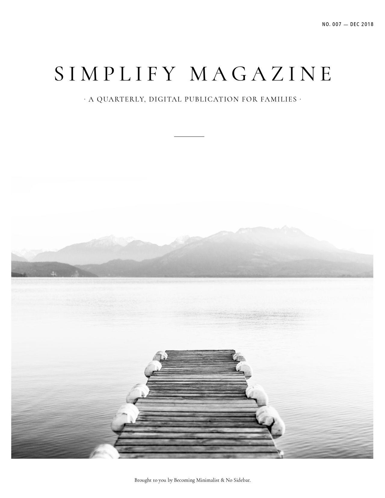 Simplify Magazine Issue #007