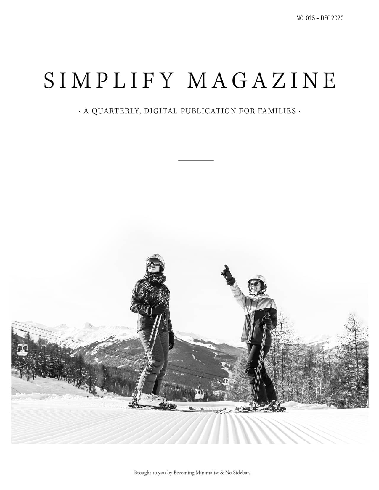 Simplify Magazine Issue #015