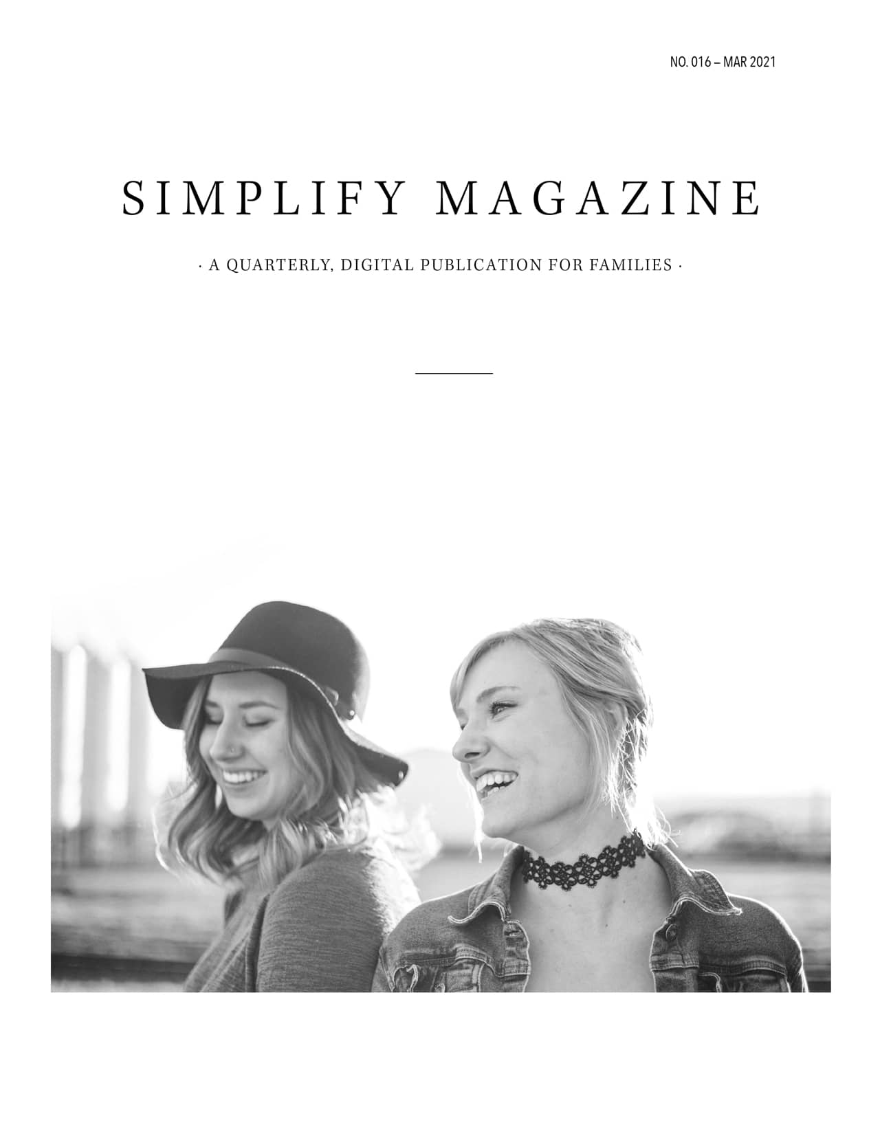 Simplify Magazine Issue #016