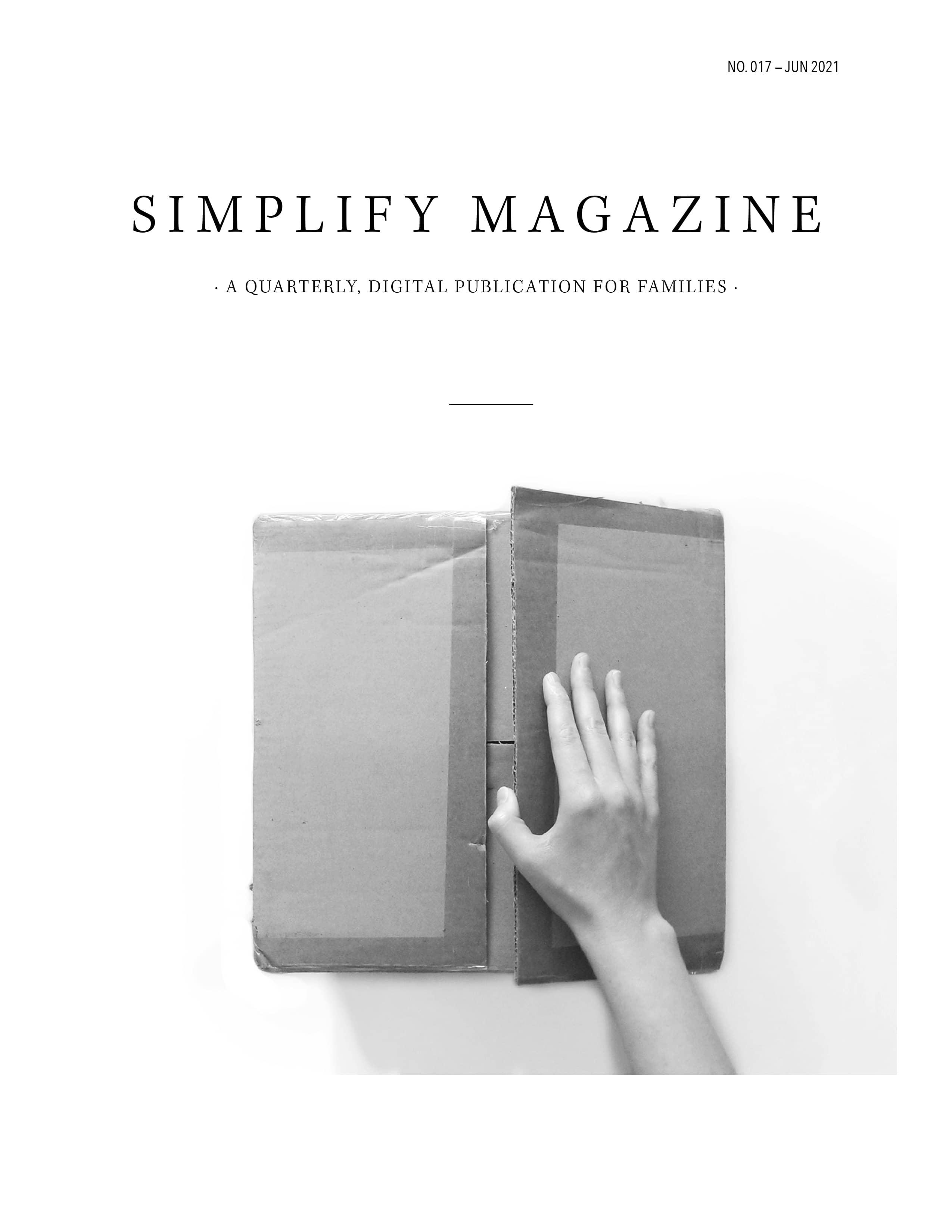 Simplify Magazine Issue #017