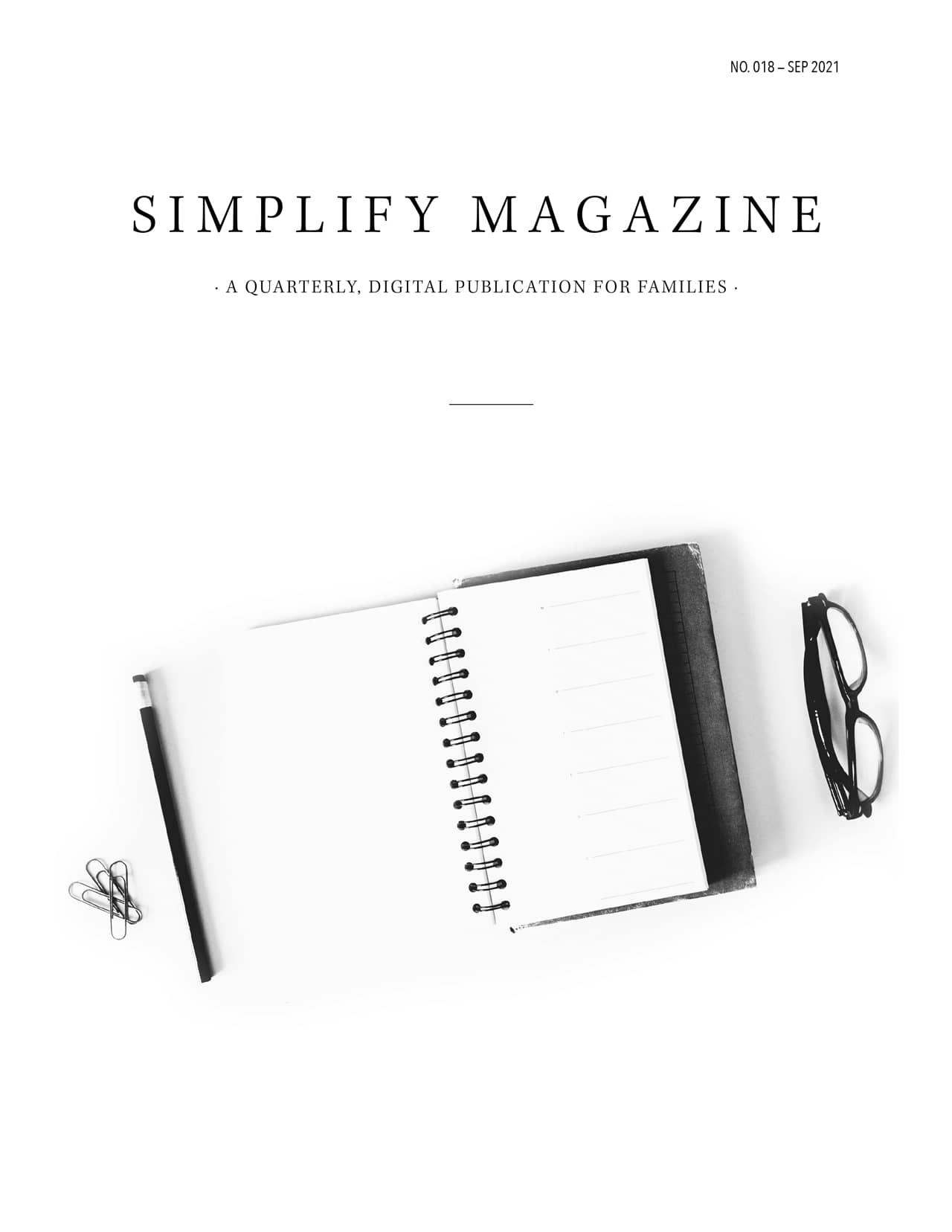 Simplify Magazine Issue #018